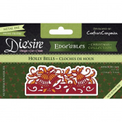 Crafter's Companion Die'sire Edge'ables Cutting & Embossing Die Holly Bells