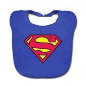 'SUPERMAN in training 100% Cotton Bib - 2/Pack -