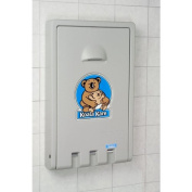 Koala Kare KB101-01 Vertical Baby Changing Station - Grey