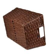 Paper Fibre Storage Basket - Brown