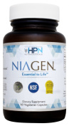 HPN Nutraceuticals Niagen - Patented NAD+ Booster with Nicotinamide Riboside (Nr) - 60 Capsules - The Original and Most Trusted Longevity Product