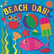 Beach Day! (Fluorescent Pop!) [Board book]