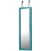 InnerSpace Luxury Products Jewellery Armoire - Turquoise