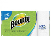 Bounty Select-A-Size Paper Towels, White, 8 Giant Rolls, 8 ct