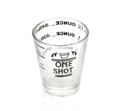 XH® Glass Measuring Cup for Espresso Cocktail 45ml