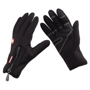 eForCrazy Adults Unisex Windproof Outdoor Ski Cycling Warmth Cold Weather Gloves