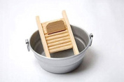 Dollhouse Miniature Wash Board and Tub by Joshua's Lifestyle Collectibles