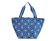 Navy Geo Gem Lunch Bag