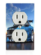 Street Mustang Electrical Outlet Plate