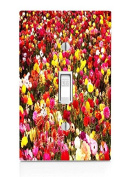 Flower Bed Light Switch Plate