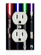 Sabres Electrical Outlet Plate