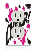 Cheer Electrical Outlet Plate