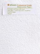 Shizen Design Professional Grade Watercolour Paper 30cm . x 46cm . deckle edges pack of 5