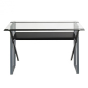 Studio Designs 50707 Calico Designs Colorado Desk, Black/Silver