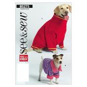 Butterick Patterns B5275 Dog Coats, All Sizes