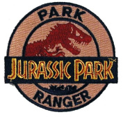 Jurassic Park RANGER Logo Embroidered PATCH