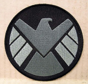 Marvel Comics AGENTS OF SHIELD Logo 8.9cm Diameter Embroidered PATCH