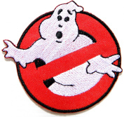 Ghostbusters No Ghost Movie Comics Cartoon Logo Kid Baby Jacket T shirt Patch Sew Iron on Embroidered Symbol Badge Cloth Sign Costume By Prinya Shop