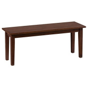 Simplicity Wooden Backless Dining Bench by Jofran