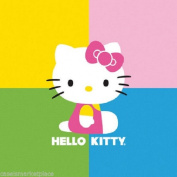 Paperproducts Design 7888 Beverage Napkin, 13cm by 13cm , Hello Kitty