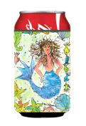 Caroline's Treasures 8082CC Mermaid Can or Bottle Koozie Hugger, Multicolor