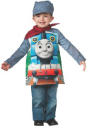Rubies Thomas and Friends, Deluxe Thomas the Tank Engine and Engineer Costume, Toddler - Toddler One Colour