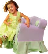 Fantasy Furniture Princess Chair, Lavender / Green