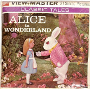 Alice in Wonderland 3d View-Master 3 Reel Packet Classic Clay Animation