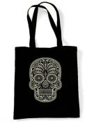 Sugar Skull Tote / Shoulder Bag