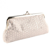 Sanwood Women Sequins Clutch Evening Party Phone Bag Wallet Purse