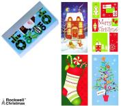 Set of 12 Christmas Money Card Holders