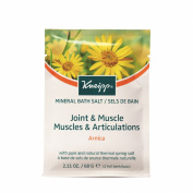 Kneipp Arnica Balancing Mineral Bath Salts Crystals Sachet 60 g - Pack of 12