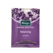 Kneipp Lavendar Balancing Mineral Bath Salt Crystals Sachet 60 g - Pack of 12