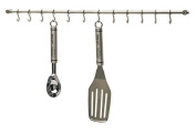 Kitchen Tool Holder Utensils Hanging Rack With 12 FREE S Hooks For Hanging