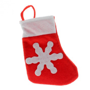 VANKER Christmas Decor Santa Xmas Sock Flatware Tableware Fork Spoon Holder Bag Pocket