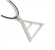 Necklace Pendant Triade, Triangle, 30 Seconds To Mars Cable.