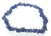Tanzanite Gemstone Chip Bracelet
