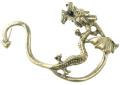 BODYA Vintage Lure Gothic Earring Classic Fly Dragon Ear Wrap Clip Cuff stud Earring Punk Rock left ear