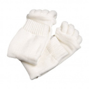 Massage Toe Feet Alignment Socks Prevent Foot Cramps Hammertoes, Bunions (1 Pair) by Generic