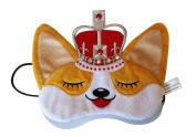 Queen's Corgi - Plush Dog Sleep Eye Mask