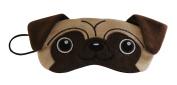 Pug Dog Plush Comfortable Sleep Eye Mask