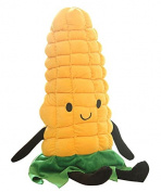 PeiGee Cartoon Plush Vegetables Stuffed Soft Plant Toy Corn