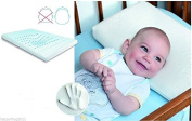 MEMO BABY MEMORY viscoelastic and thermo-active FOAM PILLOW - Flat Head and Plagiocephaly Prevention, Moisture Reduction and Breathable Design