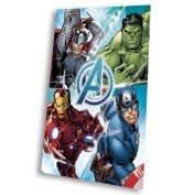 Kids Euroswan - Marvel MV16513 Avengers Fleece Blanket 150 x 100 cm.