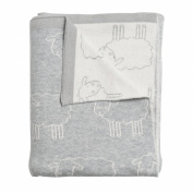 Sophie Allport Baby Blanket - Grey Sheep