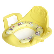 Arm and Hammer Secure Comfort Potty Seat, Baby Potty Ring With Cushion, Yellow