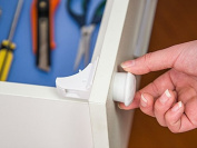 Joyoldelf Magnetic Cupboard Locks for Baby Care Child Proofing - No Tools Needed