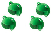 ReachTop Pack of 4 Baby Furniture Corner Safety Bumper Corner Protector Guard Cushion/ Home Safety Furniture/ Table Edge Corner Protector, 4green