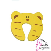 Baby Safety Animal Door Stopper Protector - Tiger