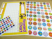 Children's, Kids' Reward Charts & Stickers to Praise & Reward Good Behaviour - For Teachers & Parents